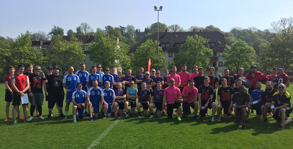 Flag Football Turnier Teilnehmer